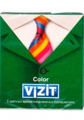 Кондом VIZIT colour,3 шт