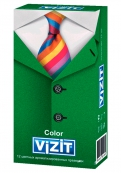 Кондом VIZIT colour,12 шт